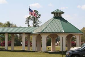 Outside Baker Community Center